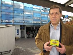 Jean-Louis Roura, président du collectif des usagers du RER A.